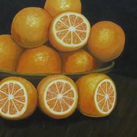 Laurie Dellaccio - Orange Sunrise