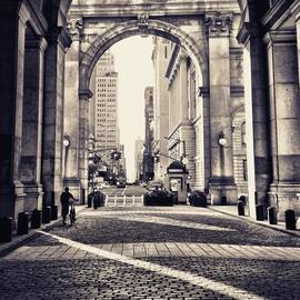Out from Shadows - Manhattan Municipal Building - New York City