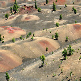 Painted Dunes In Lassen Volcanic National Park by Pierre Leclerc Photography