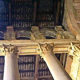 Pantheon Columns by Mindy Newman