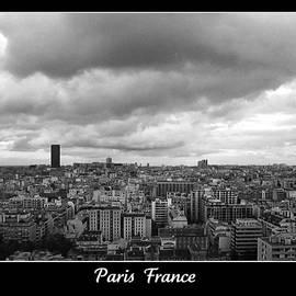 Paris Skyline France by John Shiron
