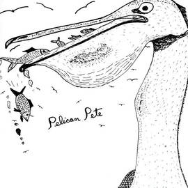 Pelican Pete - Cartoon Drawing