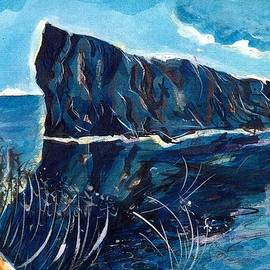 Perced Rock Quebec coast by ITI Ion Vincent Danu