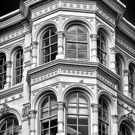 Philadelphia Building Detail 1 by Val Black Russian Tourchin