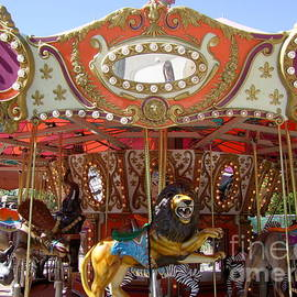 Phoenix Zoo Carousel  No 3 by Mary Deal