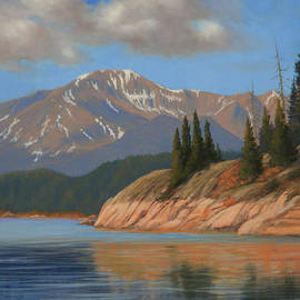 Kenneth Shanika - Pikes Peak - Ripples and Reflections 120425-1114