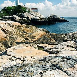 Point Atkinson lighthouse by Frank Townsley
