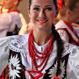 Mariola Bitner - Polish Folk Dancing Girl