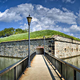 Postern Gate Bridge by Williams-Cairns Photography LLC