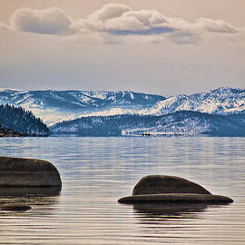 Quiet Lake Tahoe by Martin  Gollery