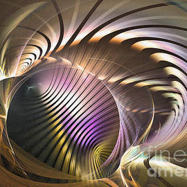 Requiem - Abstract Art by Sipo Liimatainen