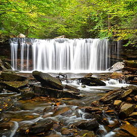 Ricketts Glen Waterfall Oneida by Frozen in Time Fine Art Photography