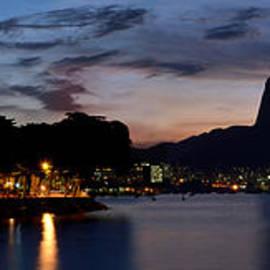 Rio Skyline From Urca by Carlos Alkmin