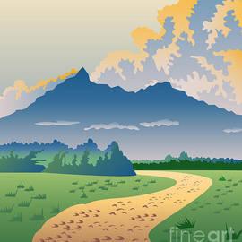 Aloysius Patrimonio - Road Leading to Mountains