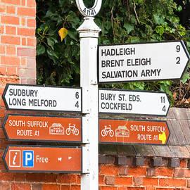 Tom Gowanlock - Road signs