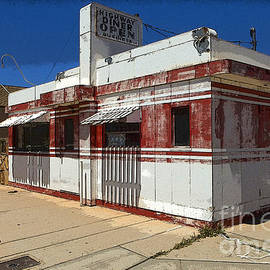 Route 66 Diner Winslow Arizona by Bob Christopher