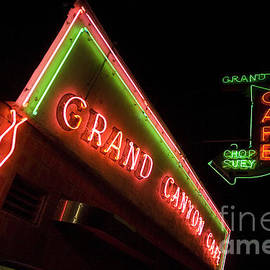 Route 66 Grand Canyon Neon by Bob Christopher