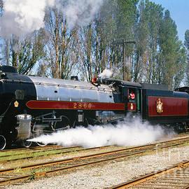 Royal Hudson Locomotive by Randy Harris