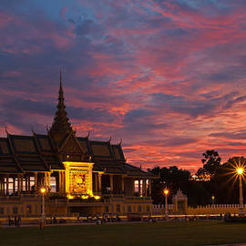 Royal sunset by David Freuthal