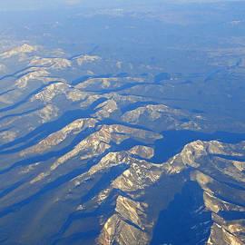 Al Bourassa - Rugged Rockies Aerial II
