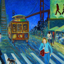 San Francisco Moments by Xueling Zou