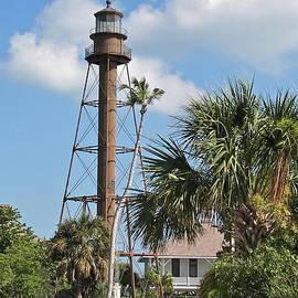 Sanibel Lighthouse II by Carol  Bradley