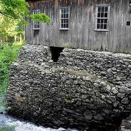 Sawmill At Moore State Park In Paxton Massachusetts by John Black