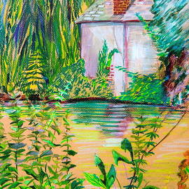 Mindy Newman - Sculptors Home and Studio on Oxfordshire Canal