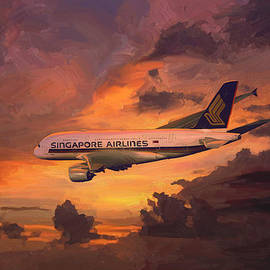 Nop Briex - Singapore Airlines A380
