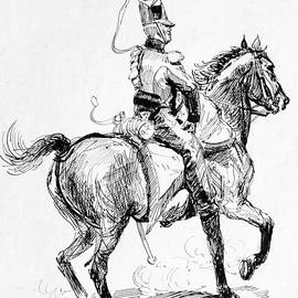 Johnson Moya - Soldier On Horse