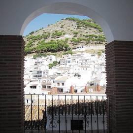 Spanish Brick Architecture IIi Mijas Spain by John Shiron