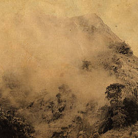 Sri Lankan Misty Peaks. Chinese Painting Style by Jenny Rainbow