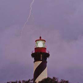 St. Augustine Lighthouse by John Zawacki