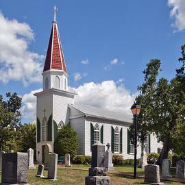 St Marys Catholic Church DHFX001 by Gerry Gantt