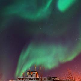 Priska Wettstein - Steamboat Under Northern Lights