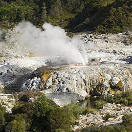 Steaming Geothermal by Sally Weigand