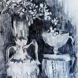 Still Life with Vases by Jolante Hesse