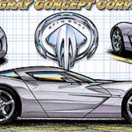 2010 Stingray Concept Corvette by K Scott Teeters