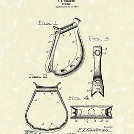 Prior Art Design - Stirrup Design 1900 Patent Art