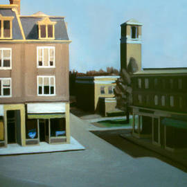 Nancy Griswold - Stoneham Square Two 1979