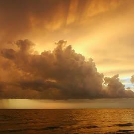 Matt Tilghman - Stormy Gulf Coast Sunset