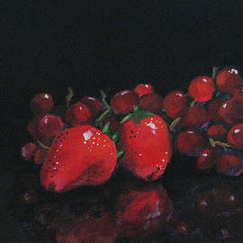 Torrie Smiley - Strawberries and Grapes