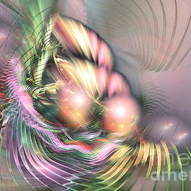 Summer Breeze -abstract Art by Sipo Liimatainen