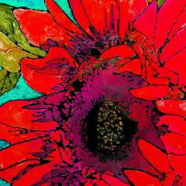 Sunkissed Sunflower by Laura  Grisham