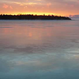 Julie Covert - Sunrise Over Shelter Island