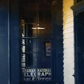 RC deWinter - Sunset at Elmira Station