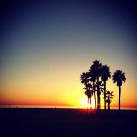 Joanna Kalafatis - Sunset in Santa Monica