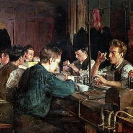 Charles Frederic Ulrich - The Glass Blowers