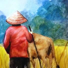 Therese Alcorn - The Herdswoman