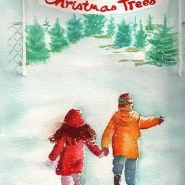Sharon Mick - The Joy of Selecting a Christmas Tree